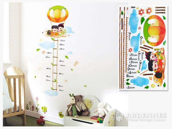 【ARDENNES】創意組合DIY壁貼/牆貼/兒童教室佈置/可重複貼 熱氣球