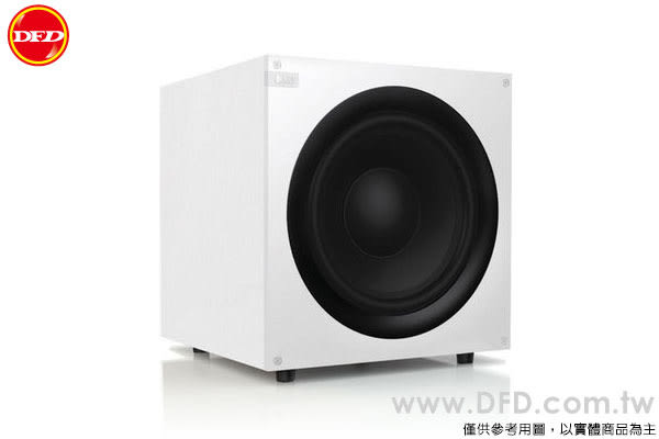 英國 KEF 重低音 Q400WH 密閉式超重低音喇叭 白色 200W強勁D類擴大機 10吋單體 公貨 送低音線10米