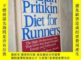 二手書博民逛書店Diet罕見for Runners: The High-Perf