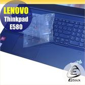 【Ezstick】Lenovo ThinkPad E580 奈米銀抗菌TPU 鍵盤保護膜 鍵盤膜
