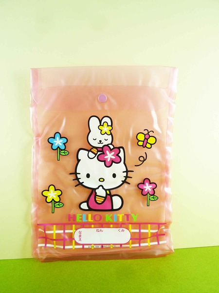 【震撼精品百貨】Hello Kitty 凱蒂貓~文件袋~兔子【共1款】