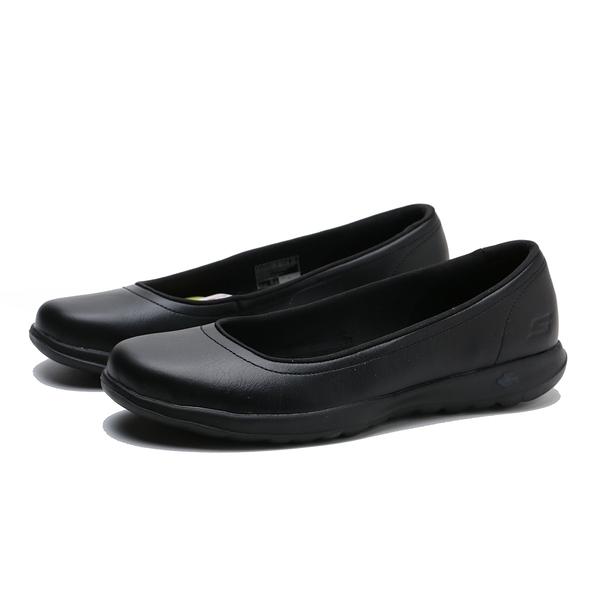 SKECHERS 休閒鞋 GO WALK LITE-FINEST 全黑 記憶鞋墊 櫃姐 女 (布魯克林) 16371BBK