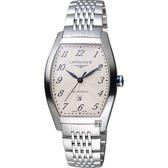 LONGINES 浪琴 Evidenza 典藏機械腕錶/手錶-銀/31mm L23424736