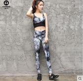 夏新款女背心健身房跑步運動套裝 性感顯瘦專業瑜伽服BS17490『樂愛居家館』