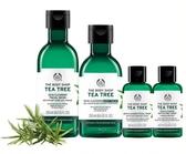 【THE BODY SHOP】茶樹清潔控油4件組