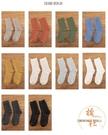 【十雙裝】長襪子女中筒襪秋冬純棉堆堆襪純色長筒【橘社小鎮】