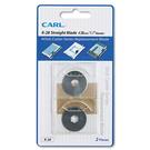 【奇奇文具】CARL K-28 實線刀片/適用210/220/230/250