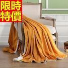 毛毯子冬款新款-法蘭絨純色線條加厚小毯被...