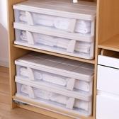 扁平床底收納箱塑料床下整理箱抽屜式收納盒 NMS 露露日記
