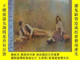 二手書博民逛書店FLAMES罕見ON THE HILL 《山上的火焰》 英文原版