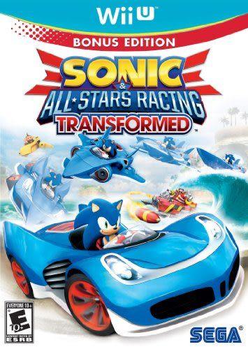 WiiU Sonic and All-Stars Racing Transformed Bonus Edition 音速小子 & SEGA 超級巨星大賽車:變形(美版代購)