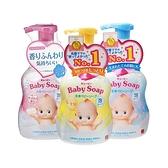 牛乳石鹼 COW Q比嬰兒泡泡沐浴乳(400ml) 嬰兒皂香/無香/滋潤 多款可選【小三美日】