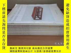 二手書博民逛書店《中國古典家具學會會刊》(JORNAL罕見OF THE CLASSICAL CHINESE FURNITURE S
