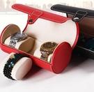 手錶收藏盒 手表盒便攜式手表盒收藏盒男士眼鏡手表盒首飾珠寶收納盒【快速出貨八折搶購】