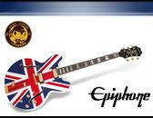 【小麥老師 樂器館】 Epiphone Union Jack Sheraton 限量版 爵士 電吉他 英國國旗 限量版
