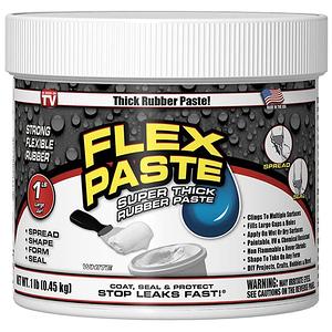 Flex Paste 飛速防水補洞橡膠膏 白色 1lb/0.45kg