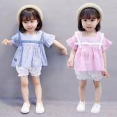 女童1夏裝0女寶寶衣服2夏季3歲嬰兒童裝套裝