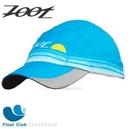 Zoot COOLMAX反光型運動跑帽(水藍) 運動帽 路跑帽 鴨舌帽 遮陽帽 三鐵帽 棒球帽