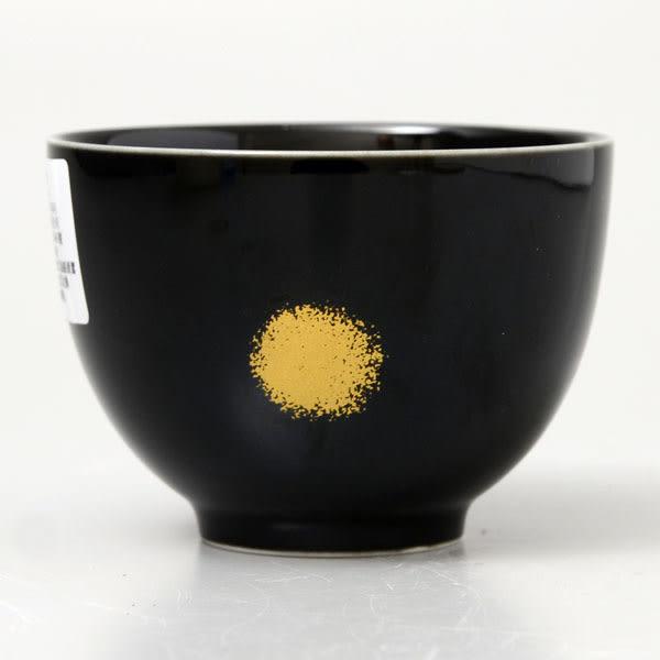 日本製 [有田燒]黑茶杯/品茗杯 8.6cm /1-29