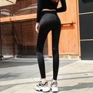 鯊魚皮打底褲女外穿腿春秋新款薄款高腰收腹緊身彈力瑜珈芭比褲