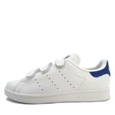 Adidas Stan Smith CF [S80042] 男鞋 女鞋 運動 休閒 復古 經典 魔鬼氈 愛迪達 白藍