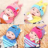 交換禮物-嬰兒帽子0-3-6-12個月春秋男童胎帽男女寶寶帽新生兒套頭帽秋冬
