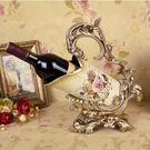 歐式復古紅酒架裝飾品擺件Dhh2738【潘小丫女鞋】