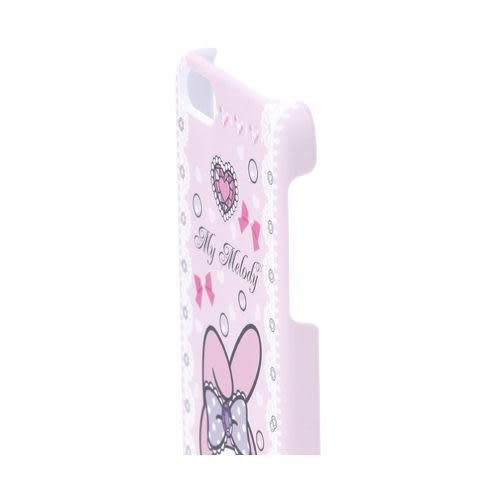 ★funbox生活用品★《Sanrio》美樂蒂 愛心寶石 iPhone5保護殼_417068