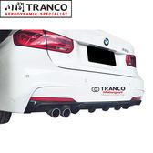 BMW F30 F31 P款 碳纖維後下巴 單邊雙出 現貨供應 M TECH SPORT 保桿 TRANCO 川閣