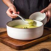 拉面碗泡面碗陶瓷碗家用大碗日式餐具沙拉碗水果碗大號湯碗 快速出貨八八折柜惠