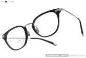 NINE ACCORD 光學眼鏡 UNION NB C05 (黑-銀) β鈦金屬系列簡約款 # 金橘眼鏡