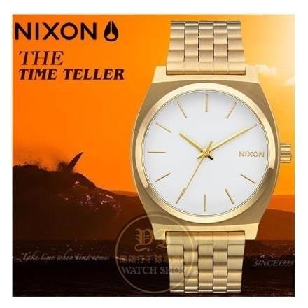 【南紡購物中心】NIXON 實體店TIME TELLER潮流腕錶A045-508公司貨/