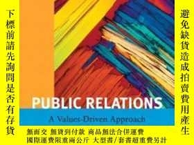 二手書博民逛書店Public罕見Relations: A Value Driven Approach With Mycommuni