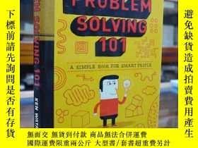 二手書博民逛書店Problem罕見Solving 101: A Simple B