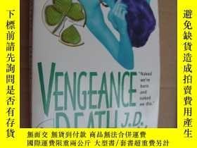 二手書博民逛書店英文原版罕見Vengeance in DeathY146810