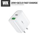WE DESIGN至速WP-U53充電器 PD20W+QC3.0大功率快速充電 iphone/ipad/switch
