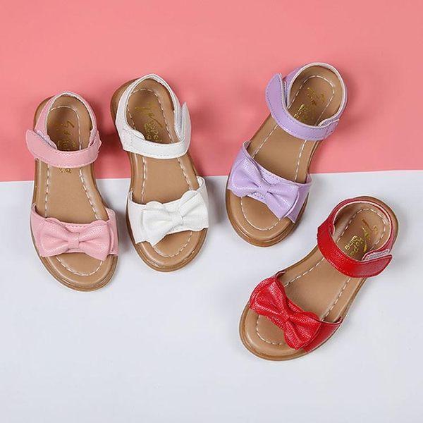 女童涼鞋正韓夏季中大兒童涼鞋公主鞋軟底寶寶涼鞋小公主  童趣潮品