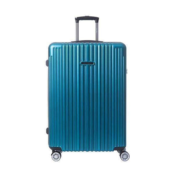 【南紡購物中心】【NaSaDen 納莎登】新無憂系列TSA海關鎖29吋拉鍊行李箱(吉森湖綠)
