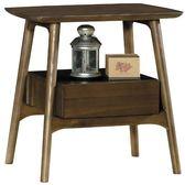 8號店鋪 森寶藝品傢俱 c-02品味生活 臥房 床頭櫃系列413-7 格特全實木邊櫃 (g02)