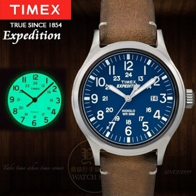 TIMEX美國第一品牌Expedition遠征系列腕錶TXT4B01800公司貨/情人節/禮物/聖誕節