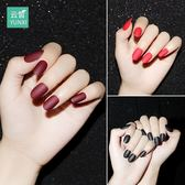 雙十二狂歡  指甲貼片指甲貼紙防水持久美甲貼紙全貼韓國3d可穿戴飾品美甲成品