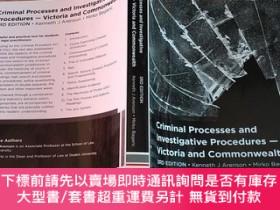 二手書博民逛書店【外文原版】criminal罕見processes and investigative procedures :v