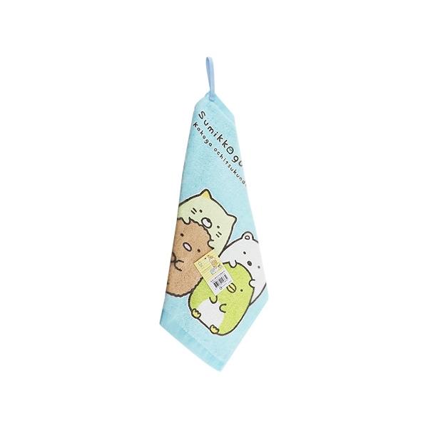 角落小夥伴印花擦掛巾(33x34cm)1入【 小三美日】擦手巾/顏色隨機出貨