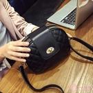 側背包 包包女2020新款斜挎包正韓學生小香風女包菱格繡花女士單肩包小包