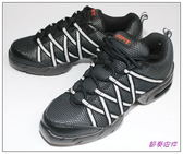 節奏皮件~排舞鞋‧有氧舞鞋‧健康舞鞋編號UNI 201 灰