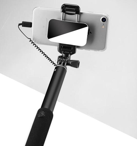 自拍棒蘋果專用自拍桿iphone7plus8px自拍神器桿手機藍芽6s三腳架角牌棒  海角七號