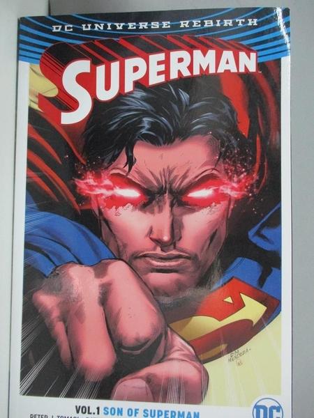 【書寶二手書T1/繪本_DDB】Superman, Volume 1-Son of Superman_Tomasi