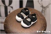 寶寶涼鞋男0-1歲夏季夏天兒童女童小童包頭鞋子嬰兒軟底學步鞋2   初見居家
