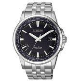 CITIZEN 漫步世界萬年曆光動能腕錶/BX1001-89L