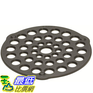 [美國直購] Lodge L8DOT3 鑄鐵 烤肉盤 Pre-Seasoned Cast-Iron Meat Rack/Trivet 8吋